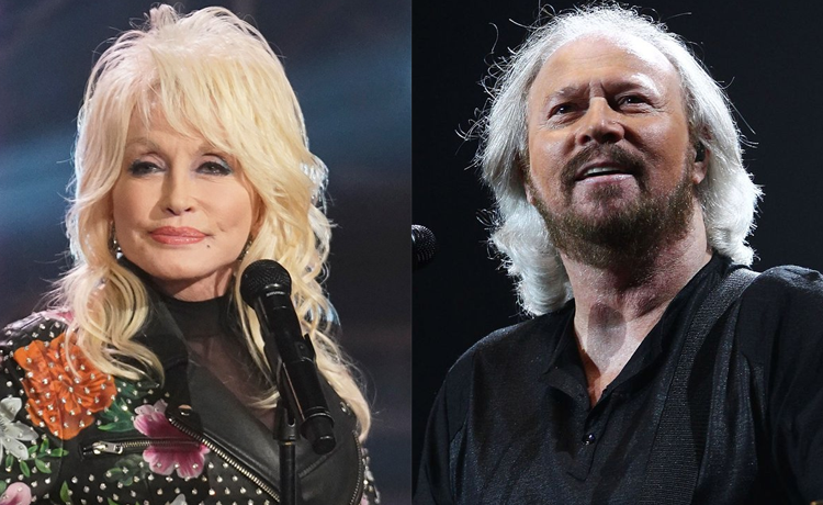 Bee Gees Singer Barry Gibb Teams Up With Dolly Parton For Words Remake